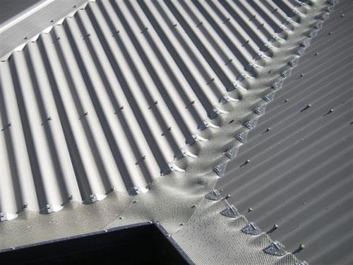 Corrougated Aluminium Complete